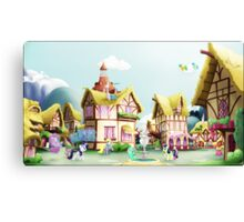 Ponyville, Noon Canvas Print