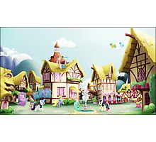 Ponyville, Noon Photographic Print