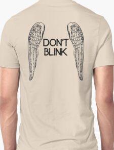 [Doctor Who] Don't Blink - Wings (Black) Unisex T-Shirt