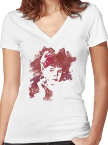 Rachel Replicant Women's Fitted V-Neck T-Shirt
