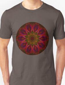 Fire Flower Mandala 4 T-Shirt