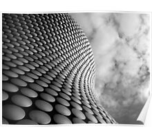 Clouds and Circles Poster