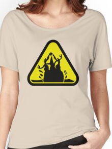 Beware of the Graboid! Women's Relaxed Fit T-Shirt