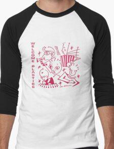 Plastics - Welcome Plastics Men's Baseball ¾ T-Shirt