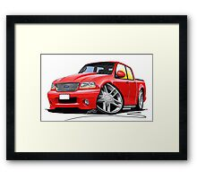 Ford F-150 Red Framed Print