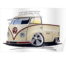 VW Splitty Pick-Up (RB) Poster