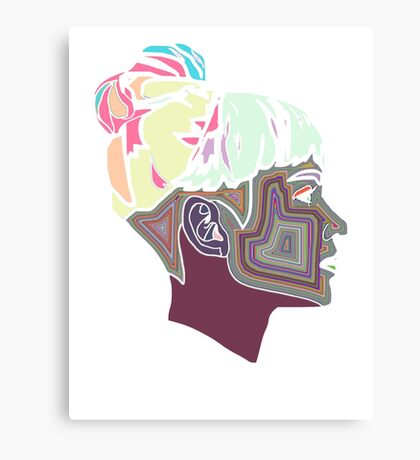 Intergalactic Grimes Canvas Print