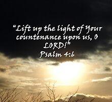 """""""Psalm 4:6""""  by Carter L. Shepard by echoesofheaven"""