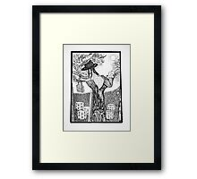 Country Girl: Apricot Orchard Framed Print