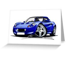 Lotus Elise S1 Blue Greeting Card