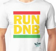 RUN DNB Design - R Unisex T-Shirt