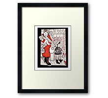 That's Not Santa Framed Print