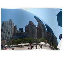 Chicago In The Bean Poster