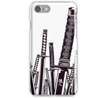 Samurai swords  iPhone Case/Skin