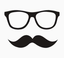 Moustache with Glasses by EpicJonny