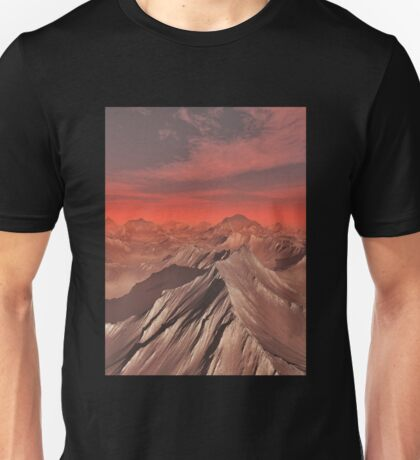 Mountains of Mars Unisex T-Shirt