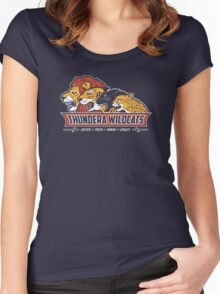 Thundera Wildcats Women's Fitted Scoop T-Shirt