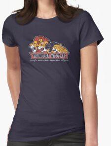 Thundera Wildcats Womens Fitted T-Shirt