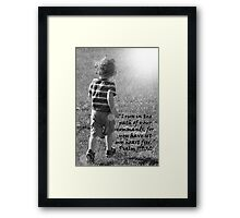"""Psalm 119:32""  by Carter L. Shepard Framed Print"