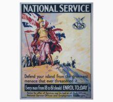 National Service 1478 Kids Tee