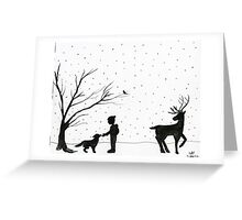 New Friends Greeting Card