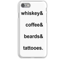 PASSIONS iPhone Case/Skin