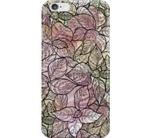 colorful flower iPhone Case/Skin