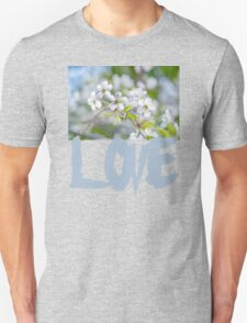 White Cherry Blossoms In Spring T-Shirt