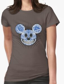Mickey. Womens Fitted T-Shirt