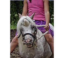 Unicorn? Where? Photographic Print