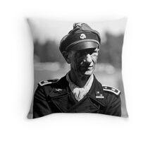 Panzer Crewman Throw Pillow