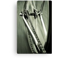 Single Speed at Speed Canvas Print