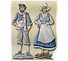 Hofbrauhaus Couple Poster