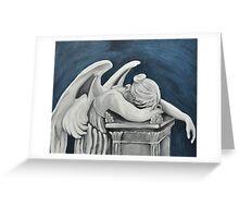 Angel of Sorrow Greeting Card