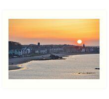 North Berwick Sunset, East Lothian, Scotland Art Print
