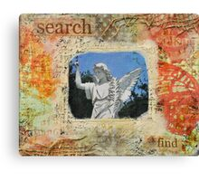 Search & Find Canvas Print