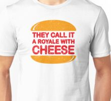 Royale with Cheese (aged look) Unisex T-Shirt