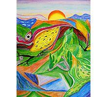 Nature- Biosphere Photographic Print