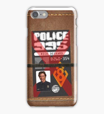 Deckard's phone cover iPhone Case/Skin