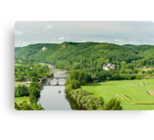 Dordogne Valley Canvas Print