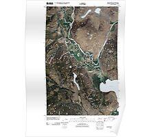 USGS Topo Map Washington State WA Nighthawk 20110503 TM Poster