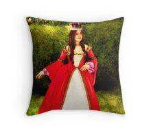 Queen Cherilyn I Throw Pillow