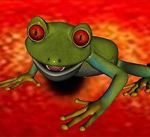 Red Frog by mashland