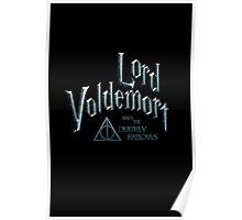 Lord Voldemort and the Deathly Hallows Poster