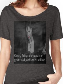Once Upon A Time - Evil Queen - Every fairytale needs a good old fashioned villain Women's Relaxed Fit T-Shirt
