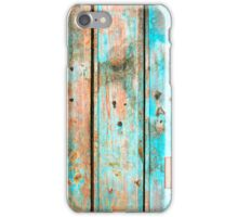Flakey Fence iPhone Case/Skin