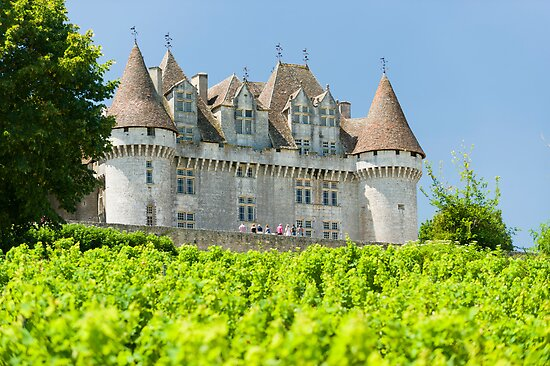 Chateau de Monbazillac by Chris Tarling
