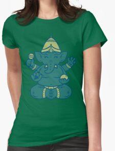 Ganesha Womens Fitted T-Shirt