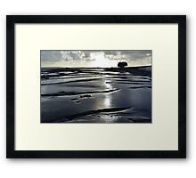 After the rain, the Burren in bright sunlight, Co Clare, Ireland Framed Print