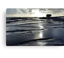 After the rain, the Burren in bright sunlight, Co Clare, Ireland Canvas Print